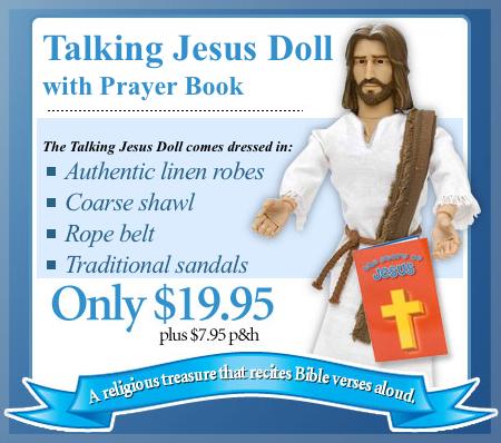 Jesus-Puppe