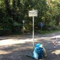 Foto: Abfall abstellen verboten
