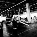 Gecrashter Jet auf der Art.Fair