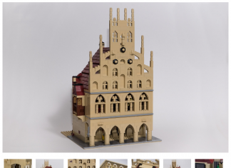 Will ich haben: Das historische Rathaus der Stadt Münster aus Lego