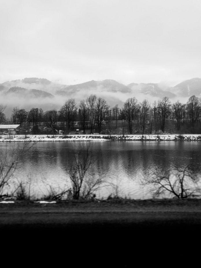 Foto: Der Inn im Winter
