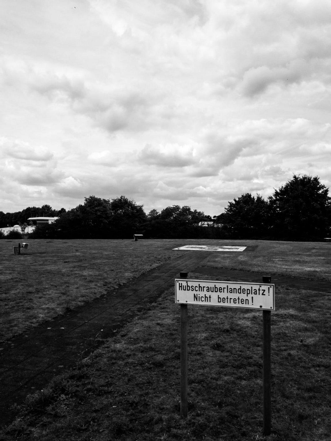 Foto: Hubschrauberlandeplatz
