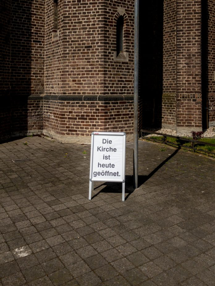 Foto: Die Kirche ist heute geöffnet