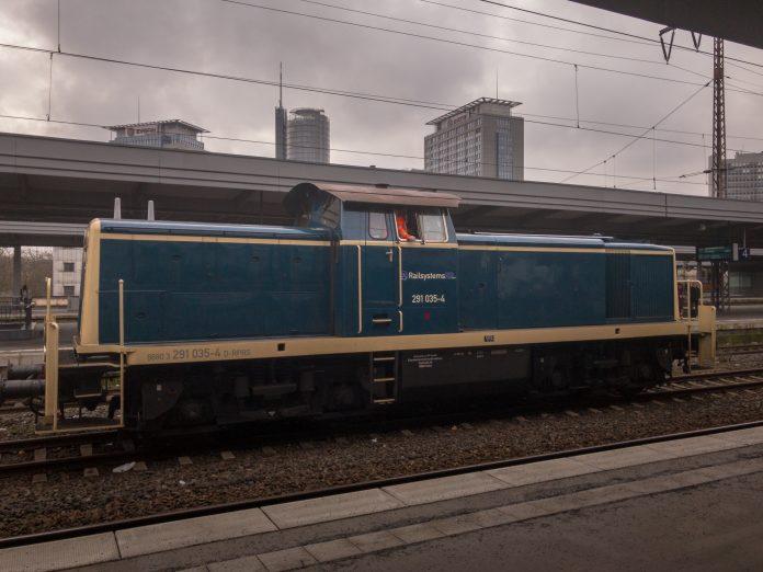 Foto: Rangierlok in Essen