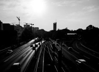 Foto: Gleise an der Savignystraße