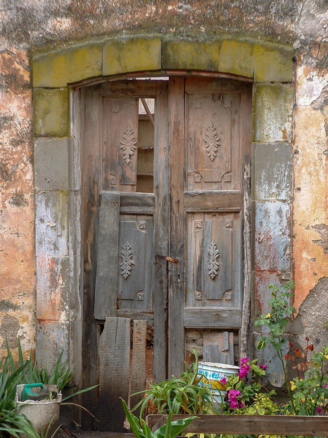 Foto: Alte Tür in Cardonal