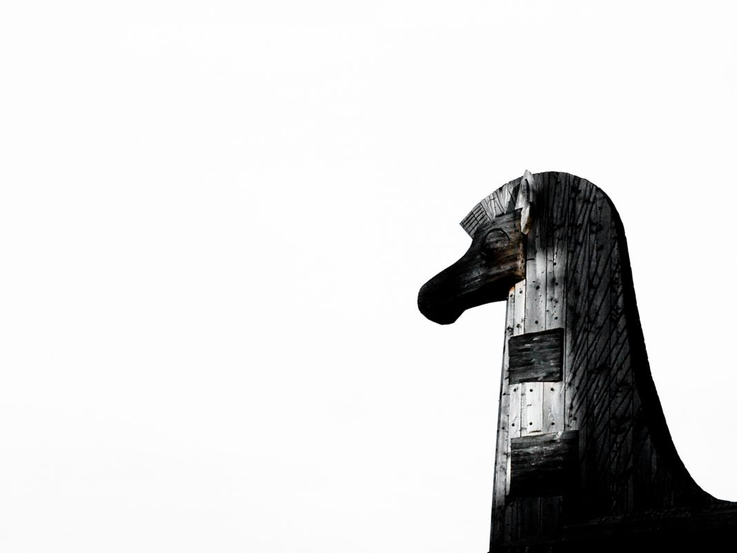 Foto: Trojanisches Pferd in München
