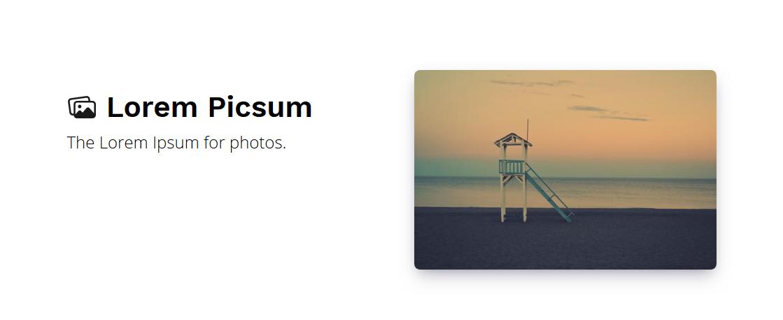 LinkTipp: Lorem Picsum