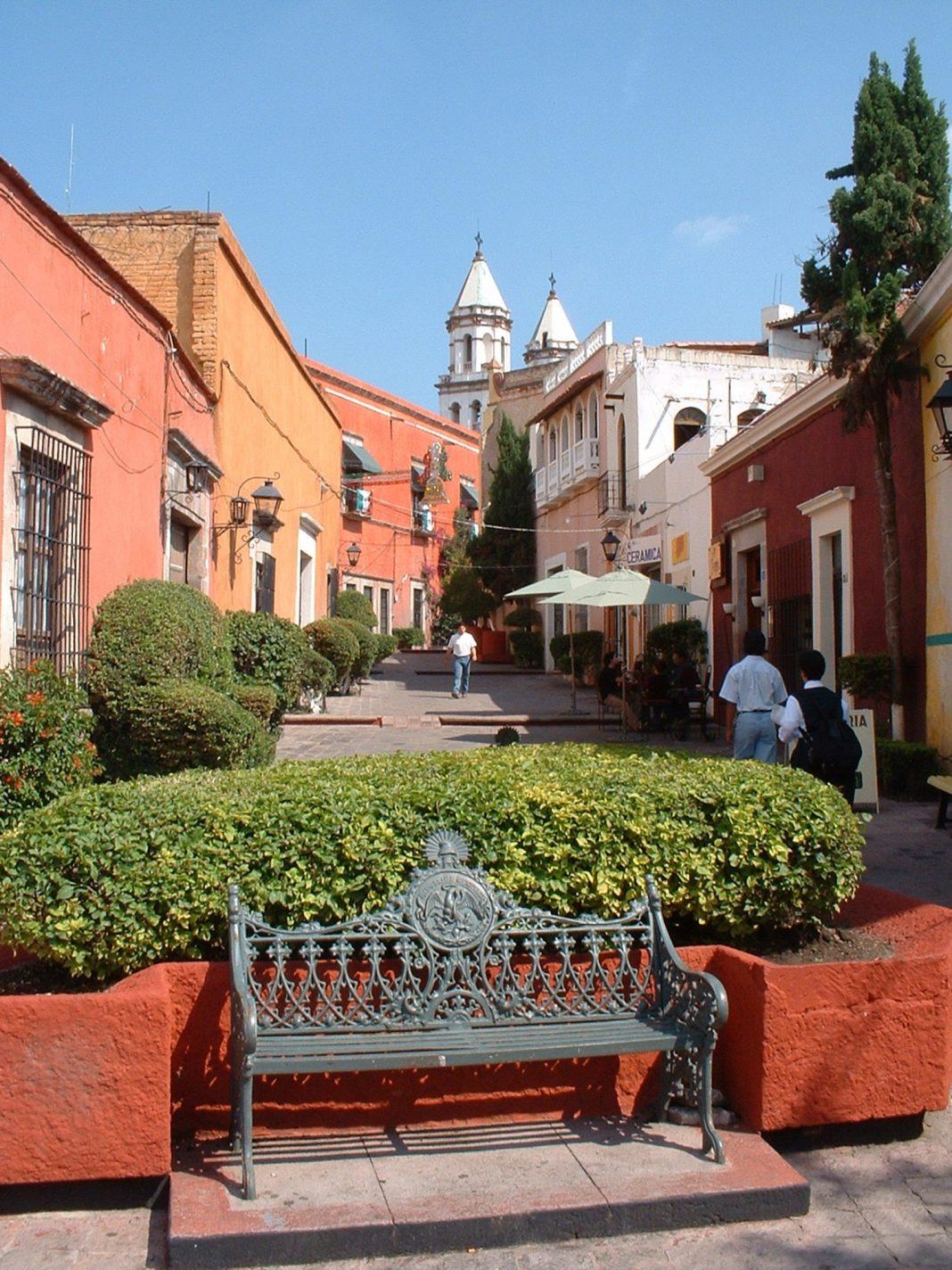 Foto: Päuschen in Querétaro
