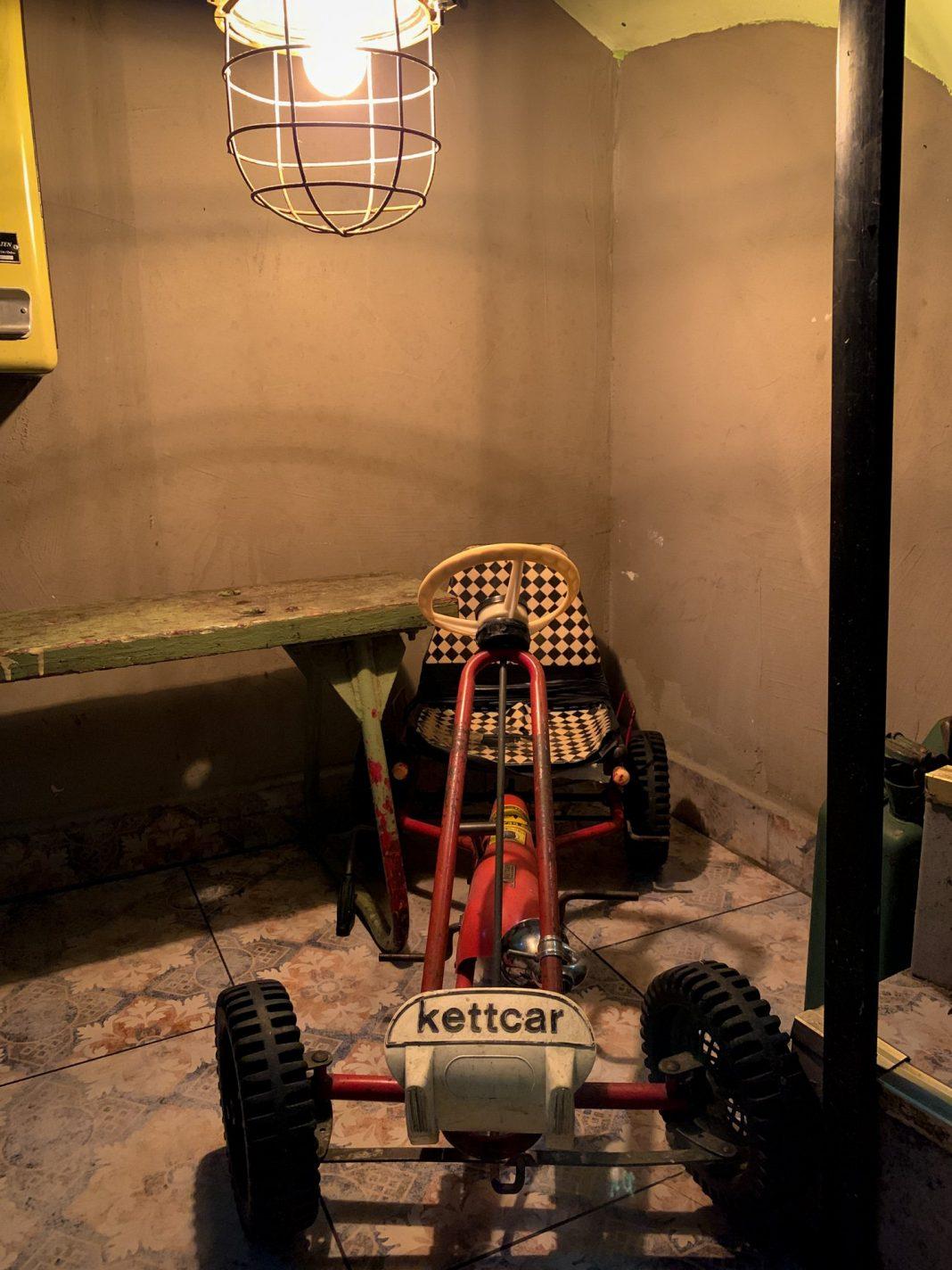 Foto: Kettcar im Keller vom Herr Pimock