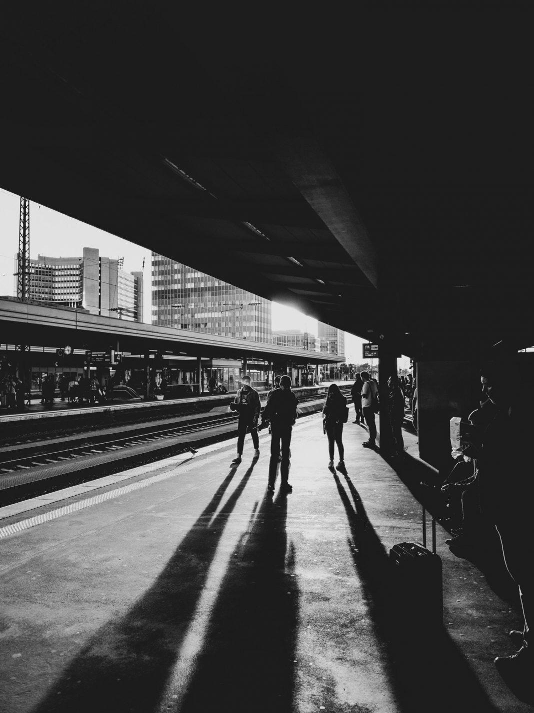 Foto: Gegenlicht am Hauptbahnhof Essen