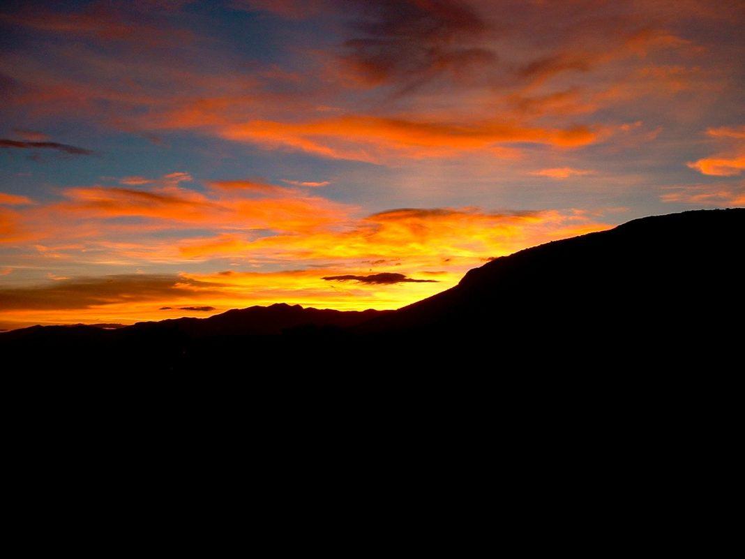 Foto: Sonnenuntergang in Progreso