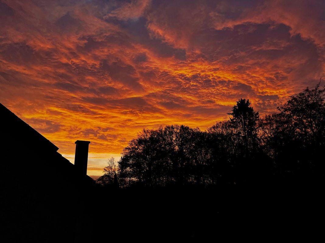 Sonnenaufgang über Spich