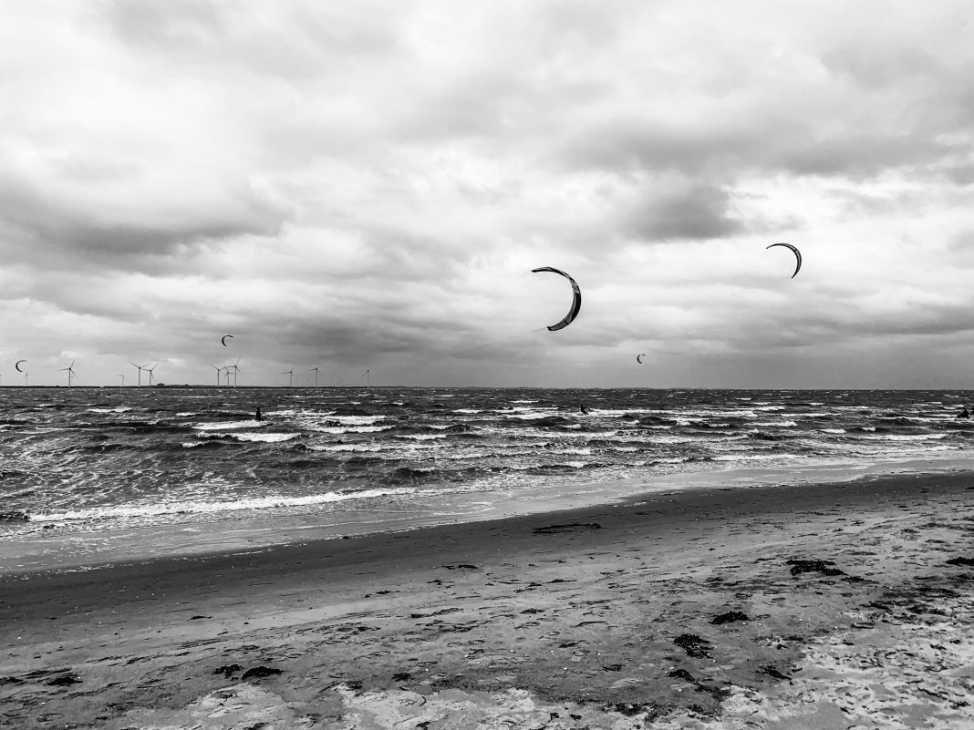 Foto: Kitesurfer