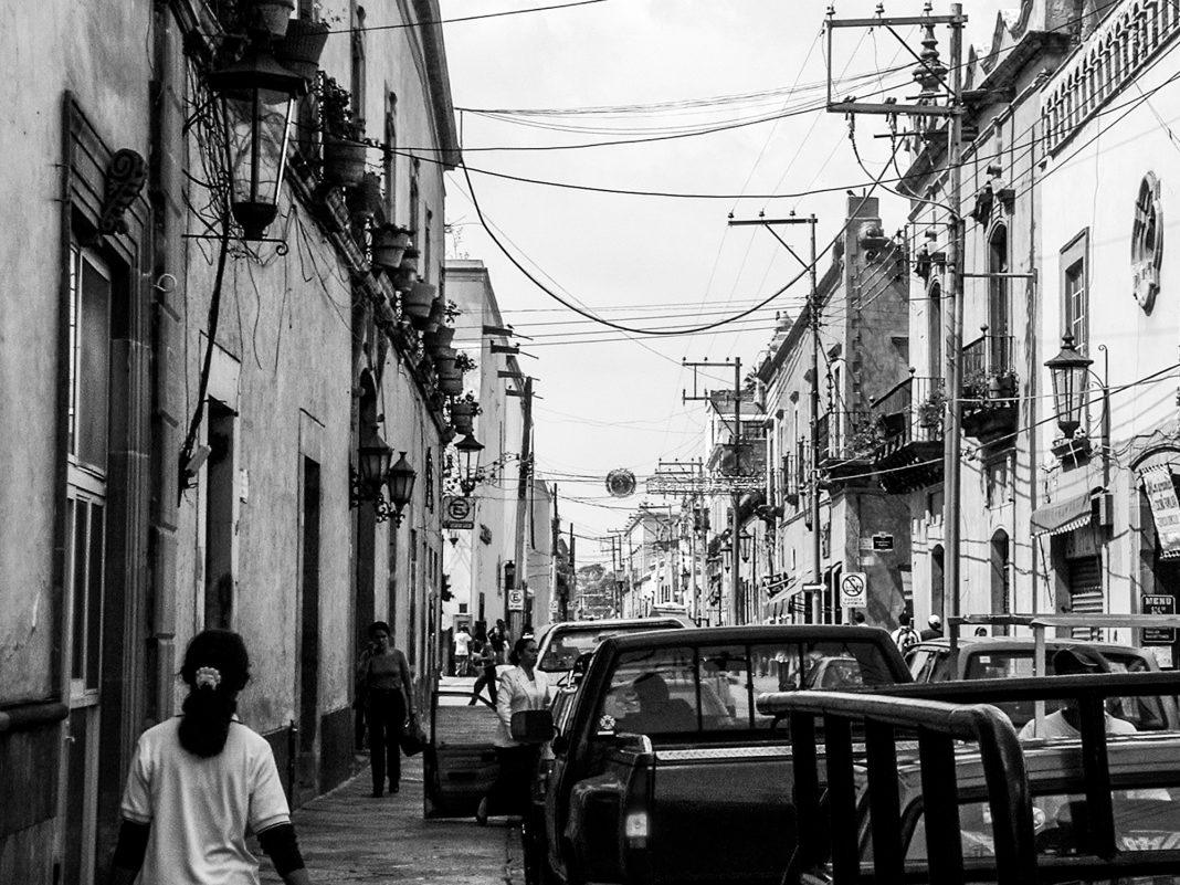 Foto: Straßenszene in Querétaro